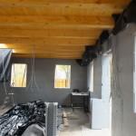 Dunaharaszti alcsony energiafelhasználású ház építése 30 cm vastag ICF elemekből, IsoShel f
