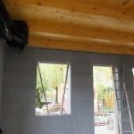 Dunaharaszti alcsony energiafelhasználású ház építése 30 cm vastag ICF elemekből, IsoShel h
