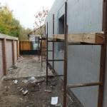 Dunaharaszti alcsony energiafelhasználású ház építése 30 cm vastag ICF elemekből, IsoShel j