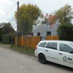 Dunaharaszti alcsony energiafelhasználású ház építése 30 cm vastag ICF elemekből, IsoShel k