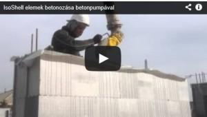 gépi betonozás