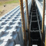 hőszigetelt falszerkezet passív isoshell elemekből gépi betonozással energiatakarékos neoppor c