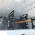 hőszigetelt falszerkezet passív isoshell elemekből gépi betonozással energiatakarékos neoppor f