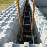 hőszigetelt falszerkezet passív isoshell elemekből gépi betonozással energiatakarékos neoppor i