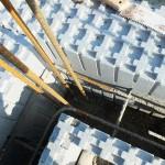 hőszigetelt falszerkezet passív isoshell elemekből gépi betonozással energiatakarékos neoppor j