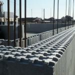 hőszigetelt falszerkezet passív isoshell elemekből gépi betonozással energiatakarékos neoppor n