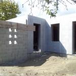 isoshell falazat garázs csatlakozás