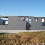 passzív falelem hőszigetelt zsalurendszer isoshell icg szerkezet szerkezet építése a tetőszerkezet falazás munkák vége  e