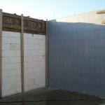 passzív falelem hőszigetelt zsalurendszer isoshell icg szerkezet szerkezet építése a tetőszerkezet falazás munkák vége  f