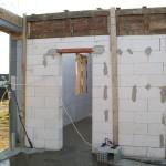 passzív falelem hőszigetelt zsalurendszer isoshell icg szerkezet szerkezet építése a tetőszerkezet falazás munkák vége  g